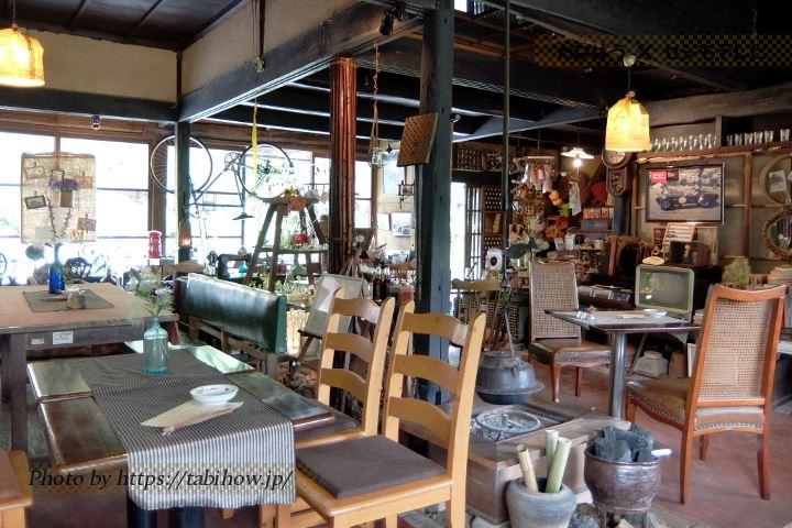 高梁市のカフェ「吹屋の紅や」