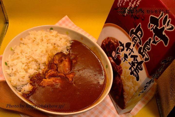 桜島鶏 骨付きチキンカレー