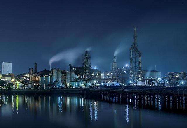 いわきの工場夜景