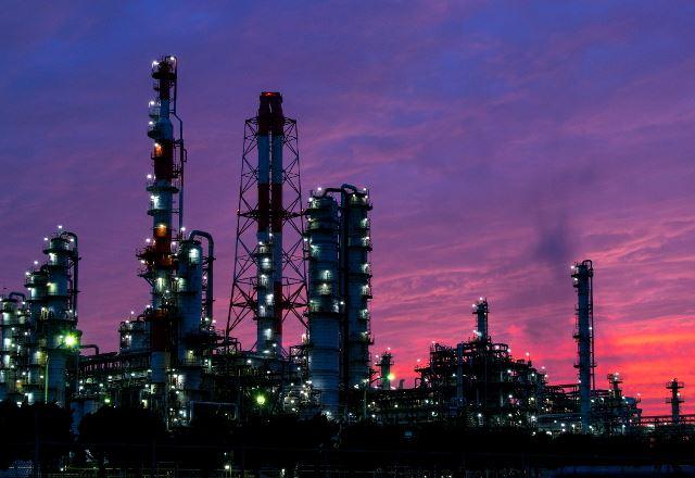 鹿嶋の工場夜景
