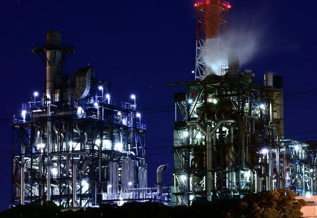 京葉の工場夜景