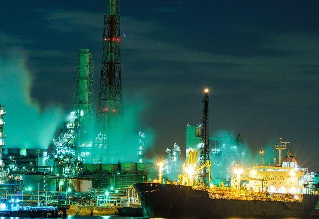 横浜の工場夜景