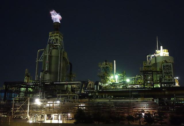 新潟の工場夜景