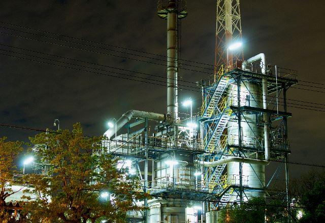 堺・泉北の工場夜景
