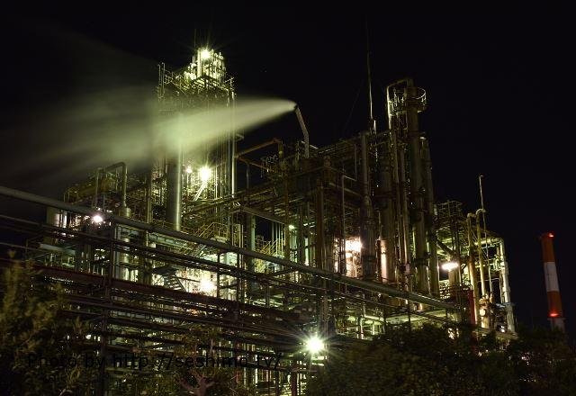 周南・宇部の工場夜景