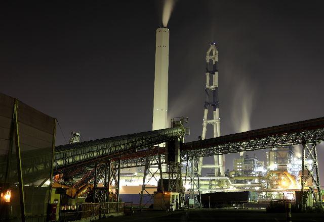 四国中央の工場夜景