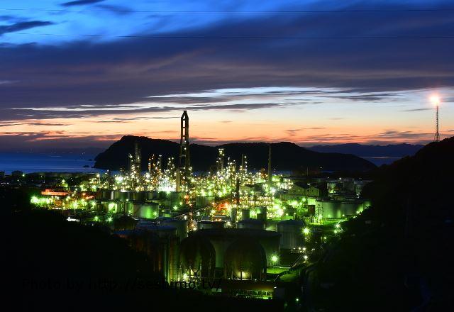 和歌山県の工場夜景