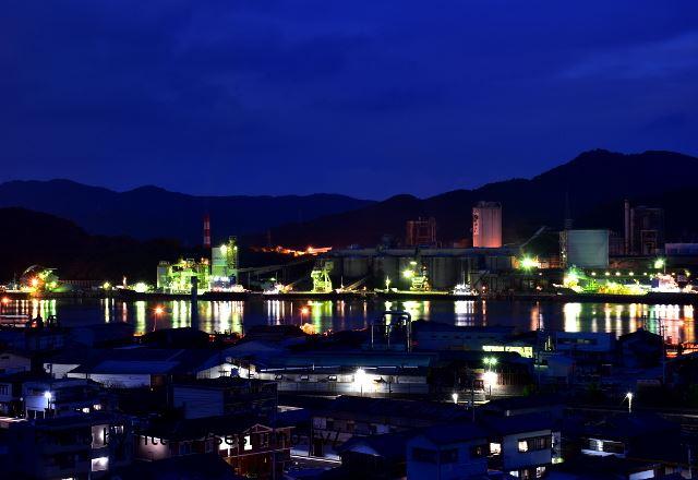 高知県の工場夜景
