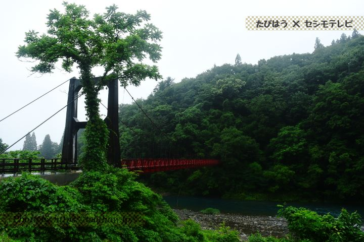 抱返り渓谷 神の岩橋