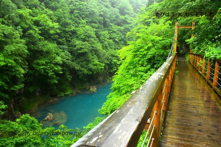 抱返り渓谷 回顧の滝ルート