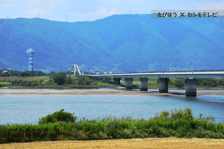 東海広場 立田大橋の遠景