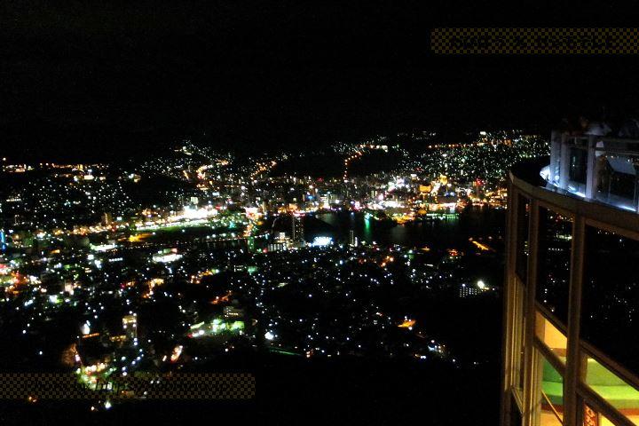 稲佐山展望台の夜景
