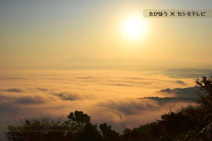 紅取丘公園の雲海