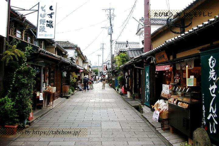 豆田町の街並み