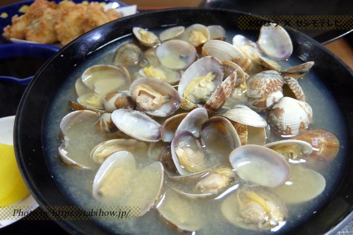 小野田あさり、貝料理