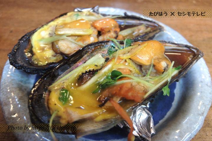 瀬戸貝料理