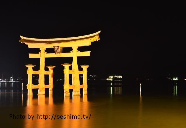 大晦日の厳島神社