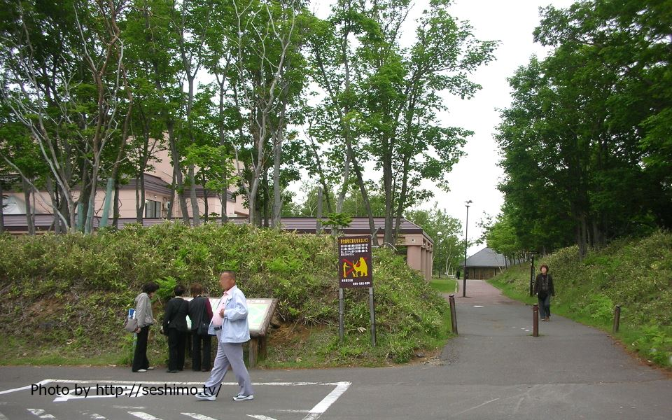 知床の駐車場