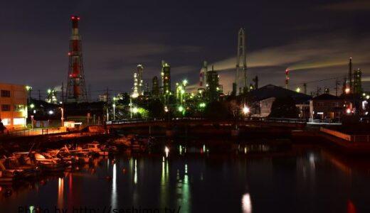 三重県の工場夜景スポット2選!四日市の名所紹介