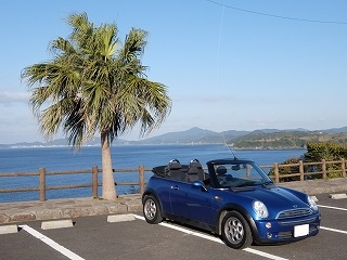 福岡県で外車オープンカー専門レンタカーを利用してみた