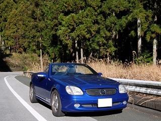 愛知県名古屋の外車レンタカー屋でベンツSLK230を借りてみた
